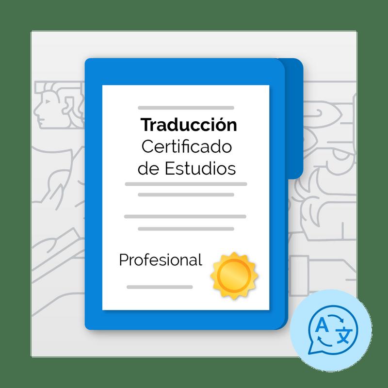Traduccion-de-Certificado-de-Estudios-de-Profesional--ingles-